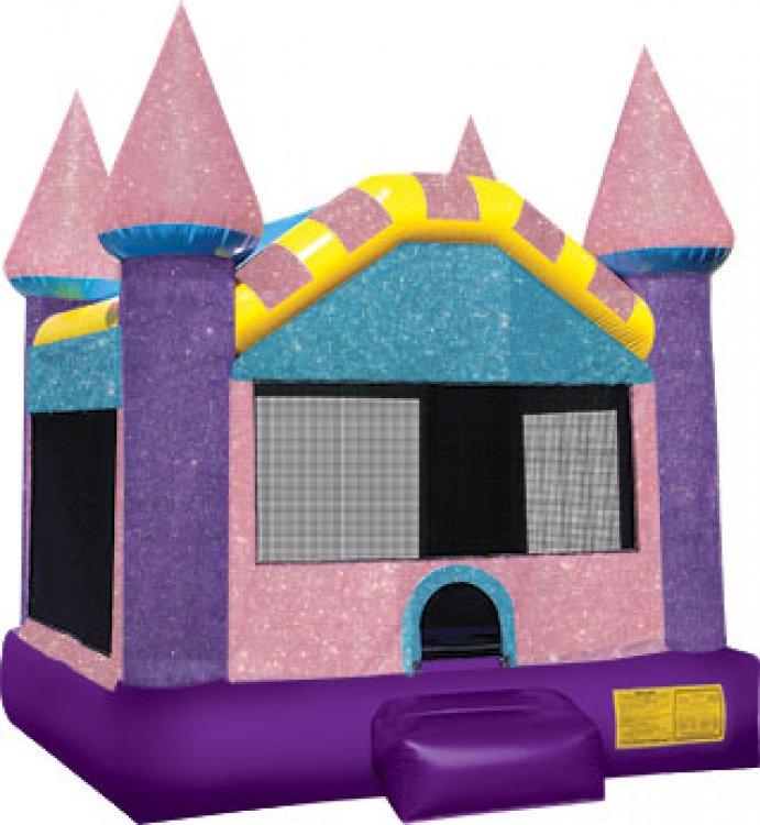 Dazzling Glitter Castle