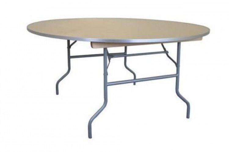 60 Round Table (Wooden)